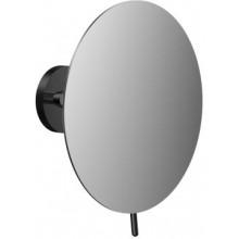 CONCEPT BLACK kozmetické zrkadielko 190mm, okrúhle, 1 rameno, čierna