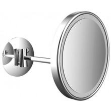 EMCO kozmetické zrkadielko 203mm, okrúhle, s LED osvetlením, 1 rameno, chróm