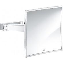GROHE SELECTION CUBE kozmetické zrkadielko 223x97-223mm, chróm