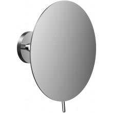 CONCEPT 200 NEW kozmetické zrkadielko 200x103x225mm, nástenné, guľaté, trojnásobné zväčšenie, chróm
