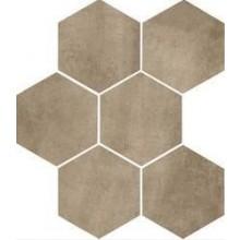 MARAZZI CLAYS dlažba 21x18,2cm šestiúhelník, earth