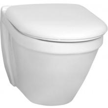 VITRA S50 Compact WC závesné 360x480mm vodorovný odpad biela
