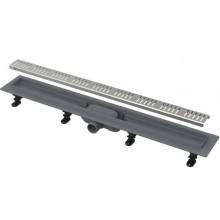 EASY sprchový žľab 950mm, DN40, s roštom, polypropylén/nerez