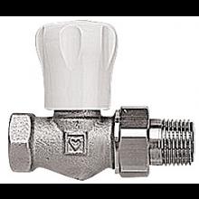 """HERZ GP radiátorový ventil 3/8"""" priamy, s obmedzením zdvihu"""