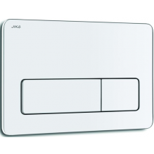 JIKA PL3 tlačítko Dual Flush, lesklý chróm 8.9366.3.004.000.1