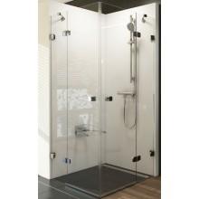 RAVAK BRILLIANT BSRV4 80 sprchovací kút 800x800x1950mm rohový, štvordielny chróm/transparent