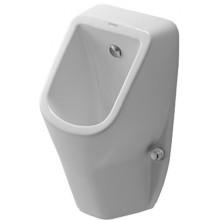 DURAVIT D-CODE urinál 305x290mm bez cieľovej mušky, biela