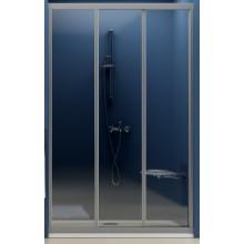 RAVAK SUPERNOVA ASDP3 130 sprchové dvere 1270x1310x1880mm trojdielne, posuvné, biela / grape 00VJ0102ZG