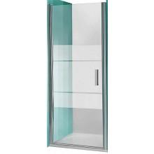 ROLTECHNIK TOWER LINE TCN1/1000 sprchové dvere 1000x2000mm jednokrídlové na inštaláciu do niky, bezrámové, striebro/intimglass