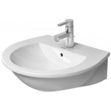 DURAVIT DARLING NEW umývadlo 550x480mm s prepadom biela 2621550000