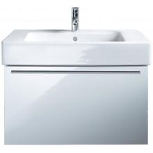 DURAVIT X-LARGE skrinka pod umývadlo 800x468mm závesná, biela vysoký lesk/biela vysoký lesk XL605202222