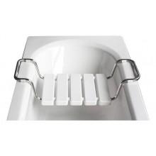 ROLTECHNIK WHITE sedátko 320x (720-860) mm do vane, biela