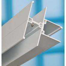 RAVAK spojovací T profil 1850mm k sprchovacím kútom biela E100000001