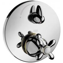 AXOR CARLTON termostatická batéria pod omietku s uzatváracím ventilom chróm