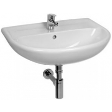 JIKA LYRA PLUS umývadlo 650x520x195mm, bez otvoru pre batériu, biela 8.1438.4.000.109.1