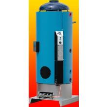 QUANTUM Q7-220-34 plynový ohrievač 220l, 30,3kW, zásobníkový, stacionárny, s intenzívnym ohrevom, do komína, modrá