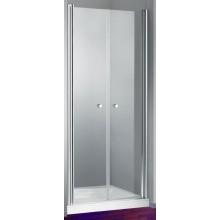 HÜPPE DESIGN ELEGANCE PTN 1000 lietacie dvere 1000x1900mm pre niku, strieborná matná/číre anti-plaque 8E1303.087.322