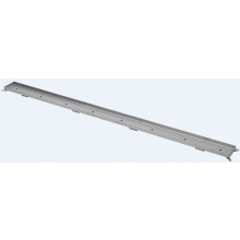 CONCEPT 50 TILE dizajnový rošt 885mm pre dlažbu, nerez oceľ