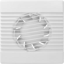 HACO AV BASIC 100 T axiálny ventilátor 100mm, stenový, s časovým dobehom, biela