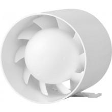 HACO AV JET axiálny ventilátor O120mm, potrubný, biely
