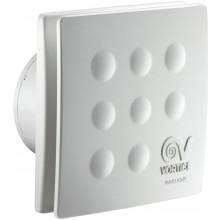 """VORTICE PUNTO FOUR MFO 100/4"""" T ventilátor odsávací axiálny, s predným panelom, s dobehom, biela"""