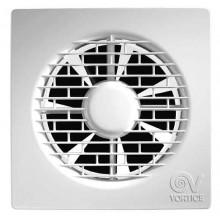 """VORTICE PUNTO FILO MF 100/4""""T ventilátor odsávací axiálny, s ultratenkou mriežkou, s časovým dobehom, biela"""