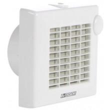 """VORTICE PUNTO M 100/4""""T axiálny odsávací ventilátor, s dobehom, biela"""