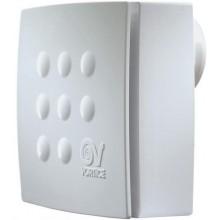 VORTICE VORT QUADRO MICRO 100 T HCS radiálny ventilátor 20/28W s časovým dobehom, nastaviteľná vlhkosť, nástenný, biela