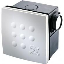 VORTICE QUADRO MICRO 100 I ventilátor 25/33W, dvojrýchlostný, so spätnou klapkou, biela