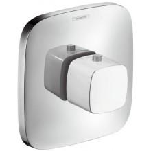 HANSGROHE PURAVIDA Highflow termostatická batéria pod omietku biela/chróm