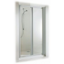 CONCEPT 100 sprchové dvere 900x1900mm lietacie, biela/matný plast
