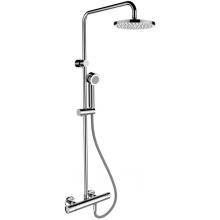 LAUFEN CITYPRO termostatický sprchový stĺp vrátane termostatickej sprchovej batérie, hlavovej
