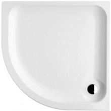 DEEP BY JIKA akrylátová sprchová vanička 900x900mm štvrťkruhová, samonosný rám, biela