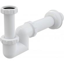 CONCEPT umývadlový a bidetový sifón Ø40, s prevlečnou maticou, biela