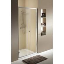 KOLO FIRST posuvné dvere 2-dielne 1200x1900mm strieborná lesklá/číre sklo