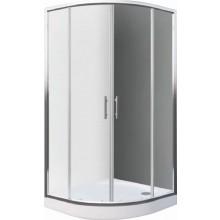 Zástěna sprchová čtvrtkruh Easy sklo