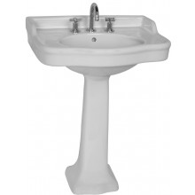 VITRA ARIA umývadlo klasické 720x540mm s otvorom a prepadom, biela