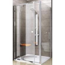 RAVAK PIVOT PPS 90 pevná stena 870x895x1900mm jednodielna, biela / transparent 90G70100Z1