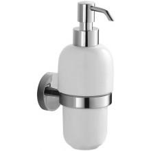 JIKA MIO držiak s keramickým dávkovačom tekutého mydla 134x134x183mm chróm 3.8474.5.004.000.1
