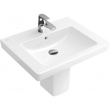 VILLEROY & BOCH SUBWAY 2.0 umývadlo 600x470mm, s prepadom biela Alpin CeramicPlus