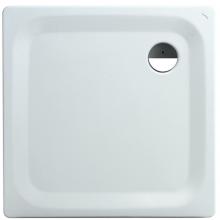 LAUFEN PLATINA sprchová vanička 900x900mm oceľová, štvorcová, s protihlukovou izoláciou, biela 2.1500.2.000.040.1