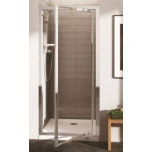 IDEAL STANDARD CONNECT pivotové dvere 1000x1900mm silver bright/sklo
