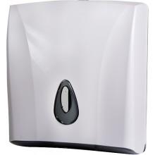 SANELA SLDN03 zásobník na skladané papierové uteráky 260x130x300mm, plast ABS, biela