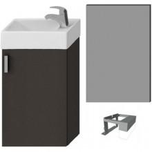 JIKA PETIT zostava nábytková 386x221x585mm, sivá / sivá 4.5351.4.175.301.1