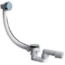 JIKA MIO výpusť vaňová automatická 550mm vrátane vaňového sifónu 40/50 mm biela/chróm 2.9481.6.004.000.1