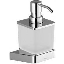 RAVAK 10 TD 231 dávkovač na mydlo 75x124x170mm, chróm/sklo