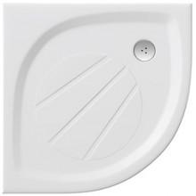 RAVAK ELIPSO PRO 80 sprchovacia vanička 800x800mm z liateho mramoru, extra plochá, štvrťkruhová, biela XA234401010