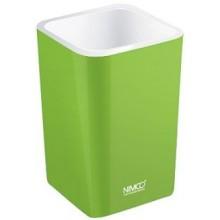 NIMCO ELI pohárik na kefky 75x75x112mm zelená