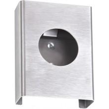 AZP BRNO zásobník na hygienické vrecká 100x135x25mm, nerez, mat