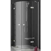 RAVAK SMARTLINE SMSKK4 80 sprchovací kút 885-897x885-897x1900mm štvrťkruhový, štvordielny, chróm / transparent 3S277A00Y1